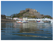 Click here to see our photographs of Gorey Castle (Mont Orgueil)